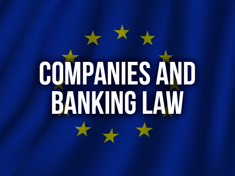 COMPANIES AND BANKING LAW
