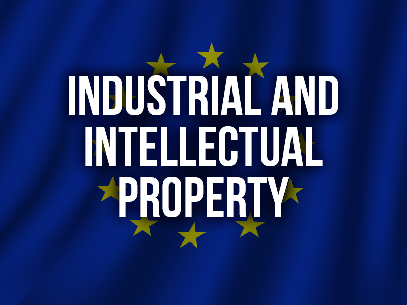 INDUSTRIAL AND INTELLECTUAL PROPERTY