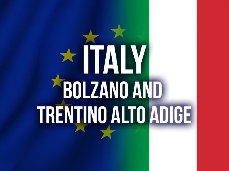 ITALY (BOLZANO AND TRENTINO ALTO ADIGE)