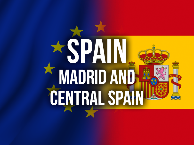 SPAIN (MADRID AND CENTRAL SPAIN)