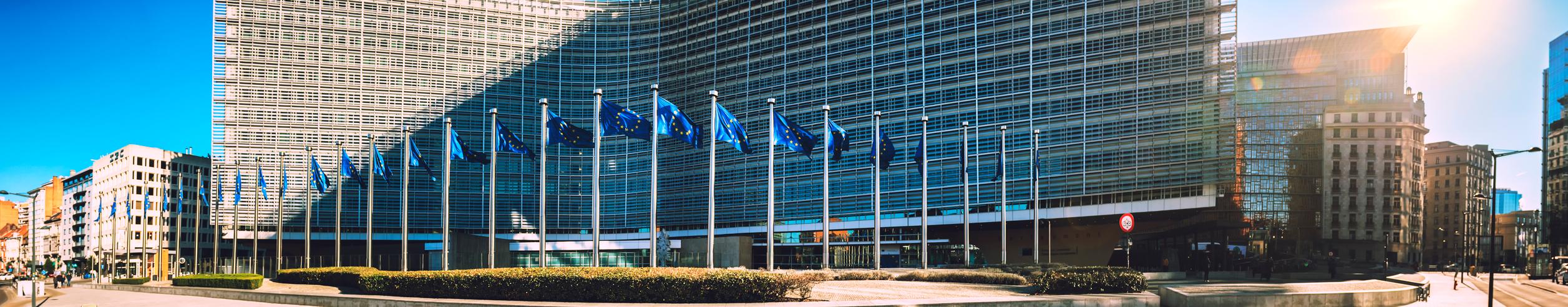 The U.A.E. - Brussels, Belgium - Berlaymont building
