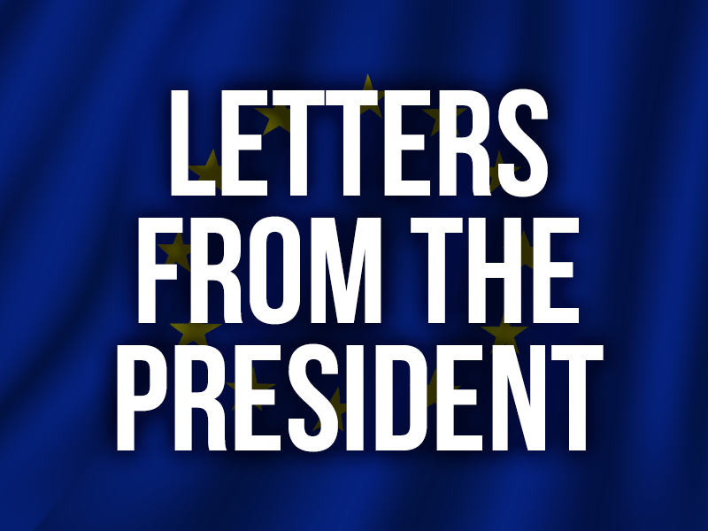 Letters from the president