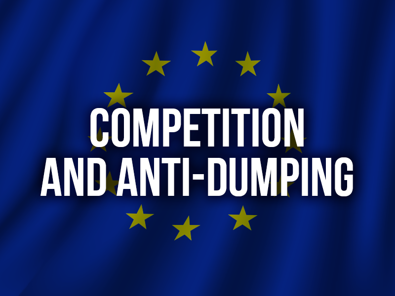 COMPETITION AND ANTI-DUMPING