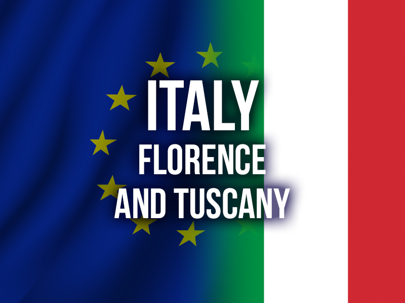 ITALY (FLORENCE AND TUSCANY)