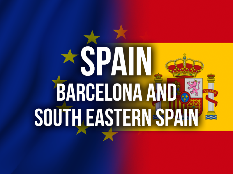 SPAIN (BARCELONA AND SOUTH EASTERN SPAIN)
