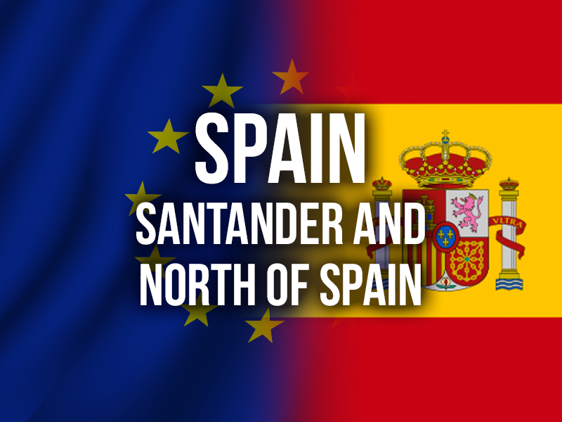 SPAIN (SANTANDER AND NORTH OF SPAIN)