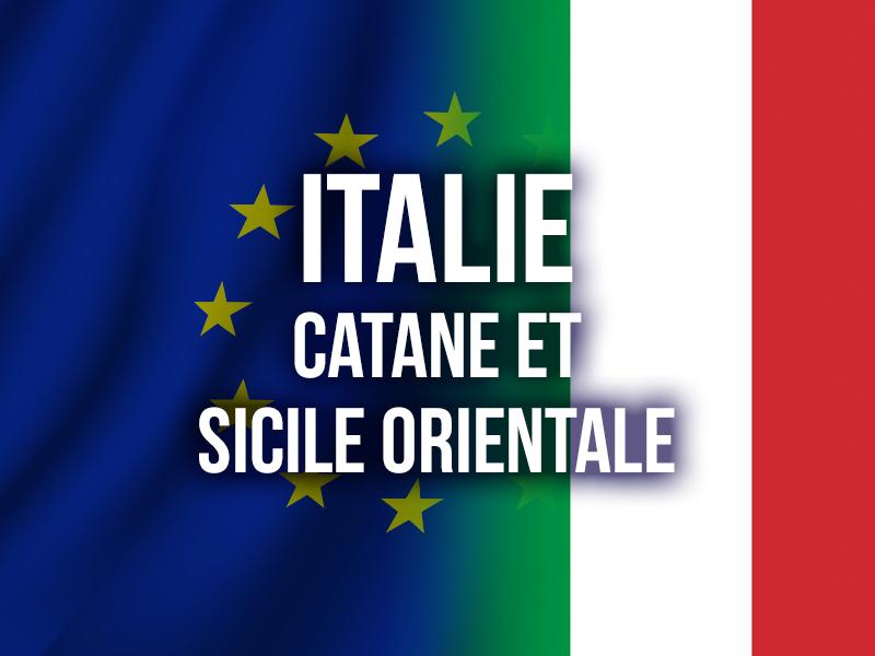 ITALIE - CATANE ET SICILE ORIENTALE