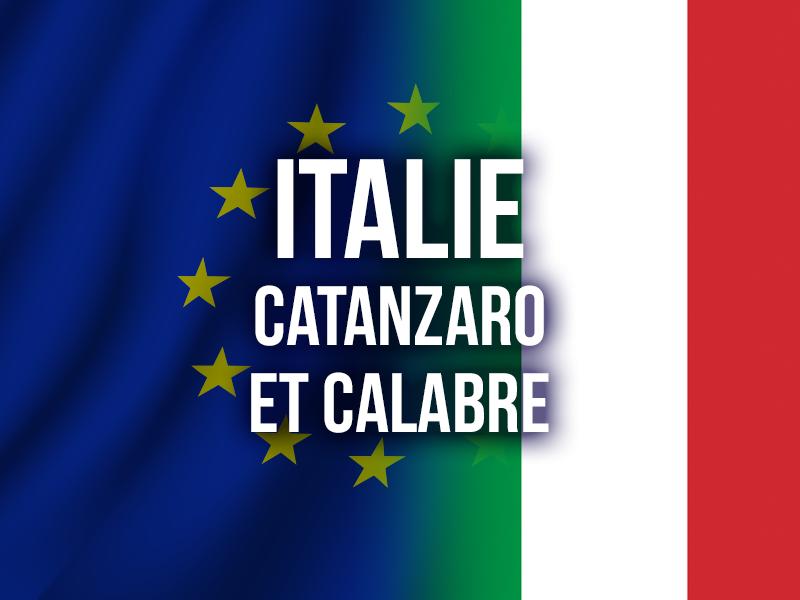ITALIE - CATANZARO ET CALABRE