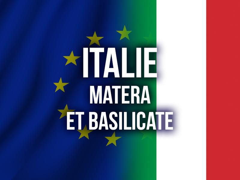 ITALIE - MATERA ET BASILICATE