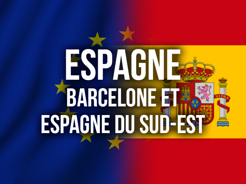ESPAGNE - BARCELONE ET ESPAGNE DU SUD-EST