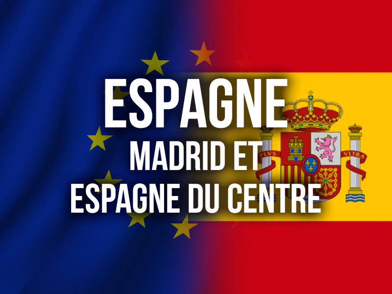 ESPAGNE - MADRID ET ESPAGNE DU CENTRE