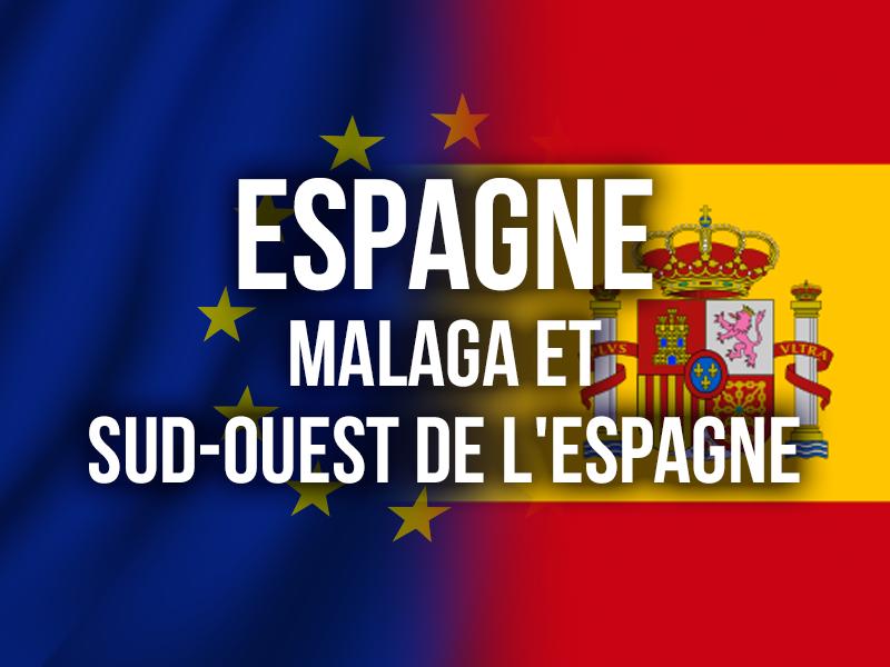 ESPAGNE - MALAGA ET SUD-OUEST DE L'ESPAGNE