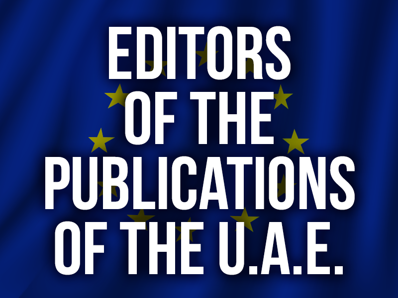 Editors of the publications of the uae