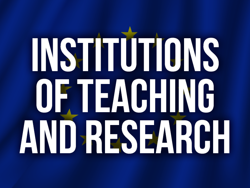 Institutions of teaching and research