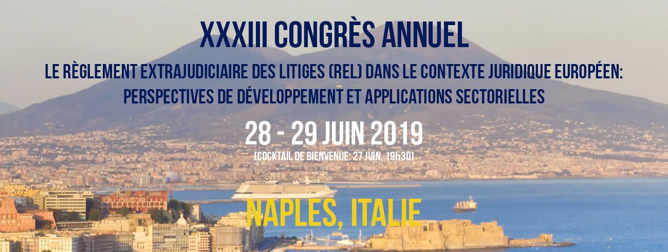 congres annuel 2019